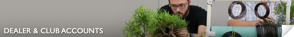 American Bonsai Club/Dealers Information